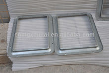 Aluminum Fabrication frame side sliding motorhome & rv window