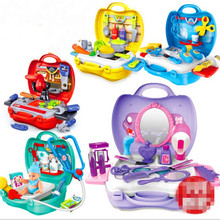 Play House Toys in Kitchen Dresser Tool Medical toys Suit for Boys&Girls