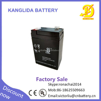 kanglida exide rechargeable storage battery batteries 6v4ah