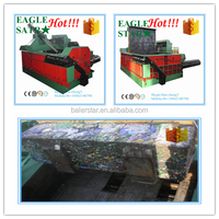best selling chinese scrap hydraulic waste metal baler in recycling industry