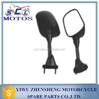 SCL-2013090249 Best quality Black color motorcycle rear view mirror