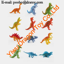 collect 12 styles plastic dragon figurines