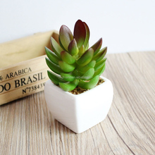 New design realistic plastic succulent mini artificial bonsai plant