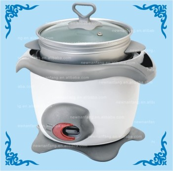 SAKULA COOL-TOUCH HANDLES Rice Cooker steamer