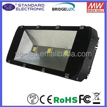 High Power Bridgelux chip Meanwell driver IP65 outdoor lights 300W LED Tunnel Lighting 27000 lm
