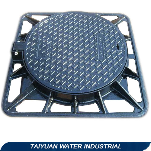 For sale road building material dubai aluminum manhole cover with bitumen primer