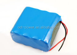 Customized 2P4S Medical Defibrilator Battery Pack 5200mah 14.8V Lithium Pack