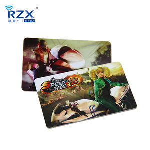 Hot Selling Customize Printing PVC Gift Plastic Festival Invitation Lottery Card