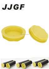 Yellow plastic round gas pipe threaded plug manufacturer