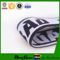 High tenacity custom soft nylon elastic band with personal pattern
