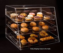 3 Tier with Removable Trays Acrylic Cupcake Pastry Donut Container Display Rack Tray Case For Sales