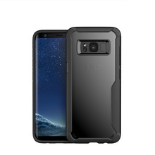 Shockproof Hard PC TPU Bumper Case Scratch Resistant Phone Case Cover for Samsung Galaxy S8
