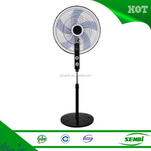 "high velocity 18"" electric stand fan new model specs with timer"