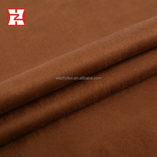 china manufacturer brown odm bonded polyester knitted dyed fabric