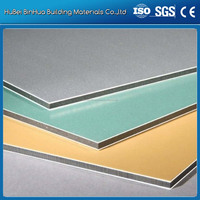 Wuhan Building material Aluminum Composite Panel/ACP/ACM Cladding wall