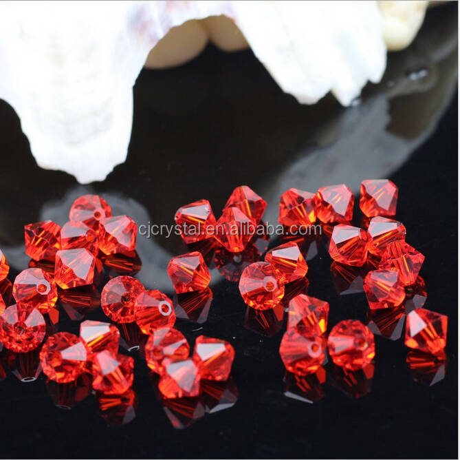 Crystal beads in bulk ,crystal beads bag,4mm bicone beads
