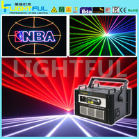 night club 5000mW laser full color multi pattern laser light projector