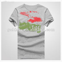 wholesale t shirt in bulk plain,t shirt wholesale cheap,grey melange t shirt