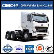 sino HOWO 371hp 6*4 tractor head truck & prime mover with best price