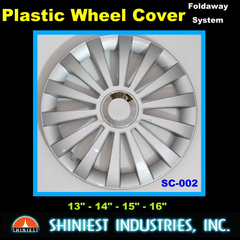 Best Selling Exterior Car Accessories SC-002 16 inch Plastic Wheel Rim Covers