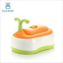 Hot sale plastic multifunction portable baby training potty makes toilet stable and funny