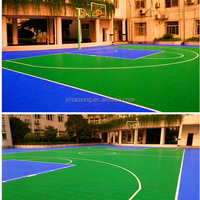Very High Quality Outdoor Indoor Basketball Court Plastic Flooring
