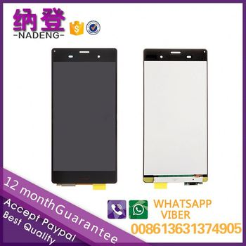 2017 hot sale best price for Sony xperia Z3 lcd D6653 D6603 lcd digitizer assembly in alibaba