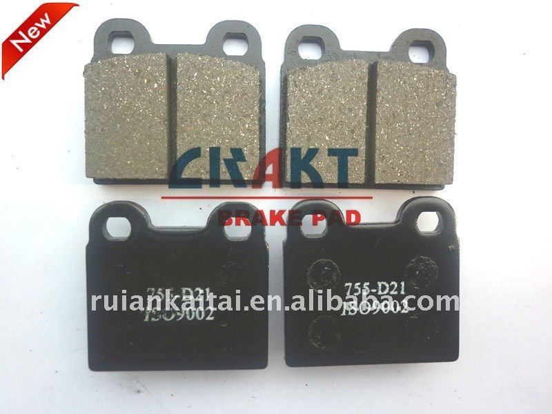 BRAKE PADS FOR ALFA ROMEO VOLKSWAGEN OPEL