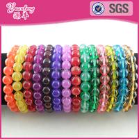 Mardi gras beads jewellery cheap custom wholesale friendship bracelets