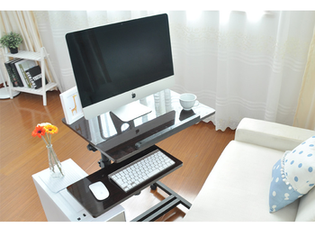 Q7#Movable and scalable laptop desk computer desk