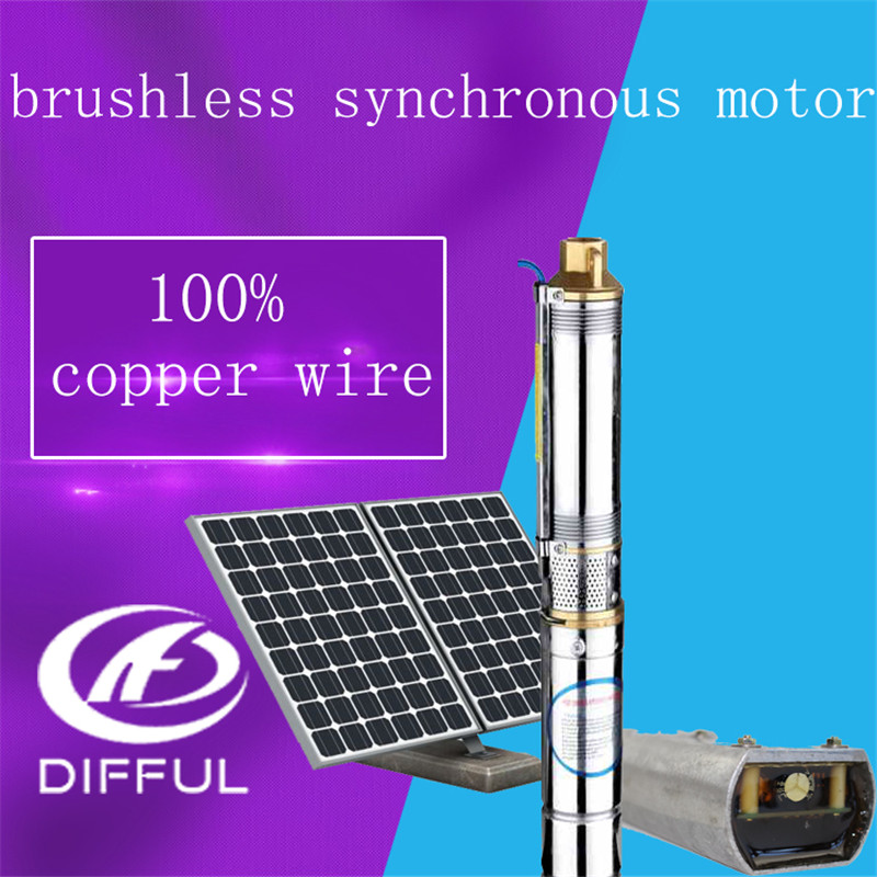 Solar Submersible Pump Agriculture Solar Submersible Pump 24v Dc Mini Water Pump