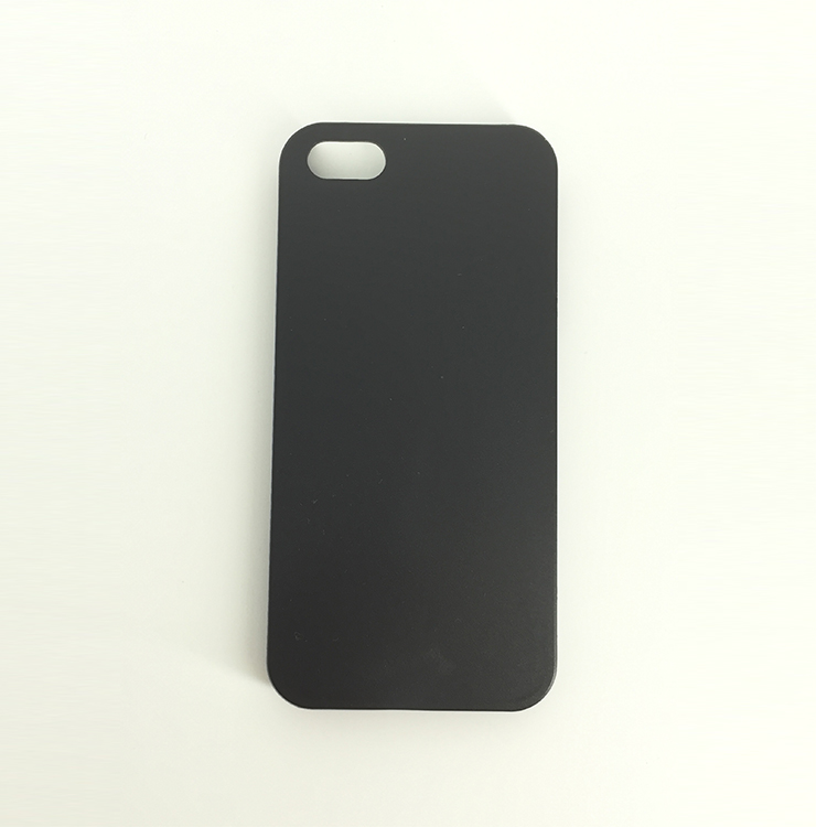 High quality minimalist custom PC black matte new phone case for iPhone 5 / 5C / 5S / 5 Se