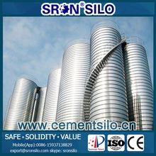 portable removable cement silos from SRON factory