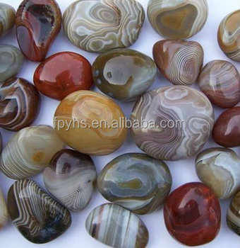 cheap natural agate stone