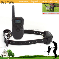 Waterproof Pet Trainer System Electric Shock Dog Collar with LCD Remote