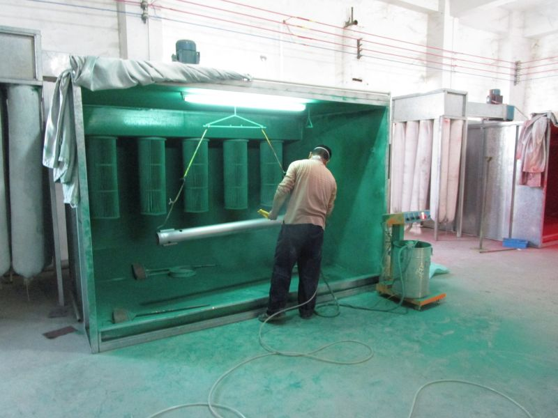 Metal Part Spraying