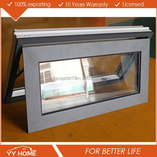 Double glazed tempered glass aluminium folding windows picture