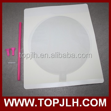wholesale A4 A3 size round inkjet printable balloon with all accessories