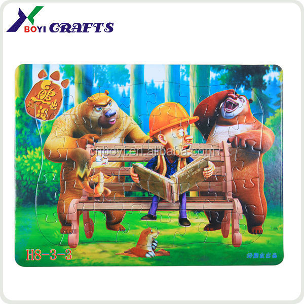 Paper toys 3d cartoon animal puzzle