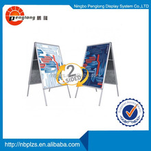 A sign poster board Snap Lock Advertising A Frame 70.7x100