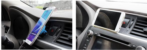 2016 Universal sticky gel Mobile Phone Holder Air Vent Magnet Car Holder For iPhone 6s