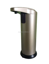Wholesale 250ml hot stainless steel automatic hand sanitizer soap dispenser foam sensor soap dispenser