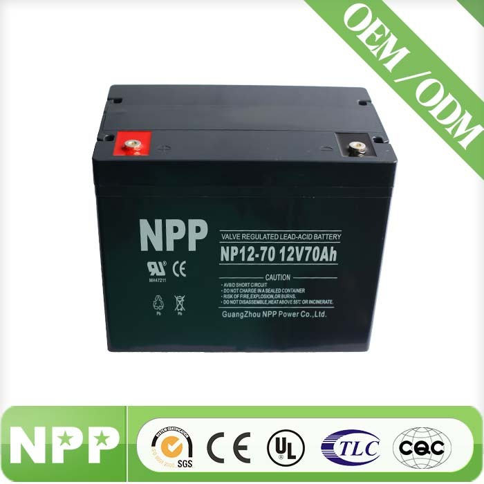 China manufacturer cheap offer high quality 12v 70ah npp deep cycle battery
