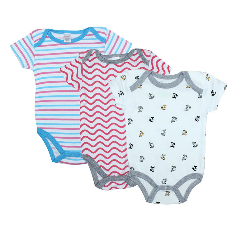 Buy 3pcs/lot baby girl boy clothing newborn baby girl boy bodysuits ...