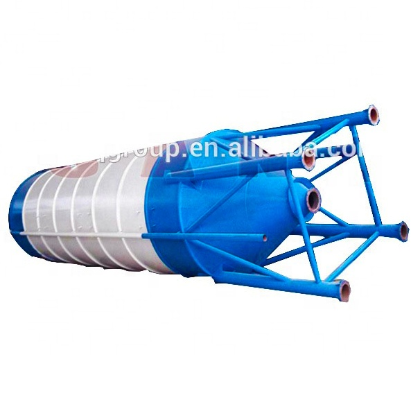 50tons Cement Silo Batching Station HZS25 Concrete Batch Plant Cement Silo With Factory Sale Price