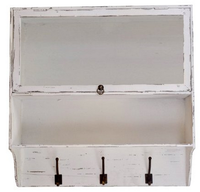 Hot Product Antique Free Shipping Wall Mounted Rustic Bathroom Cabinets