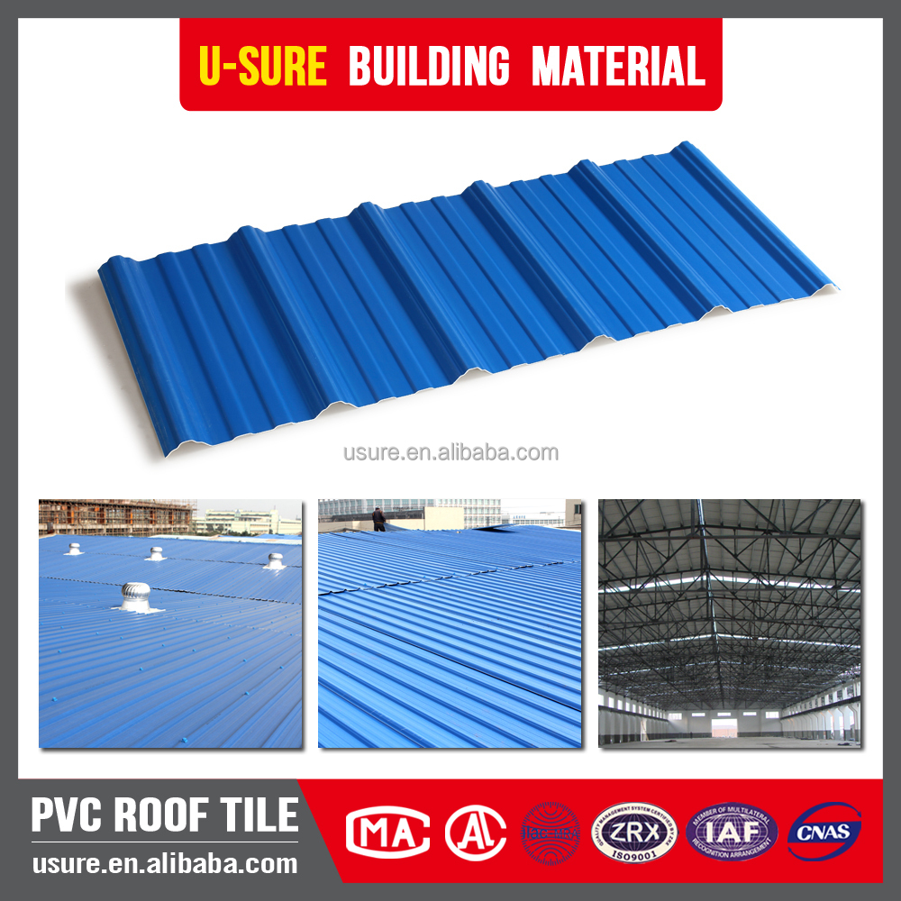 Light weight roof sheet price per sheet used price of corrugated pvc roof sheet