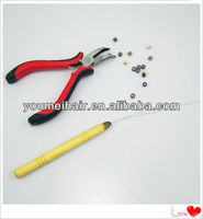 2013 wholesale best quality micro plier/camp/closer fo hair extension with factory price