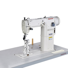 SR-810D 2017 New products post bed industrial direct drive sewing machine