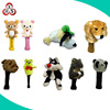 Custom golf club headcovers plush stuffed headcover animals